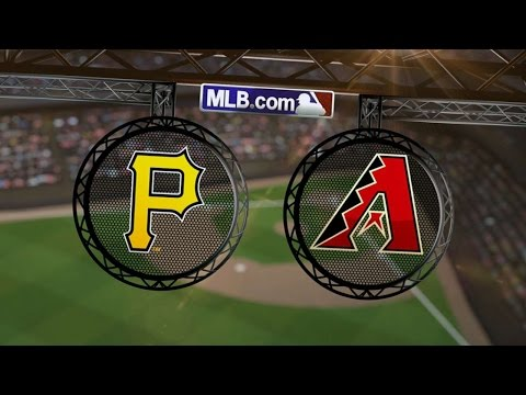 7/31/14: Homers fuel D-backs over the Pirates, 7-4