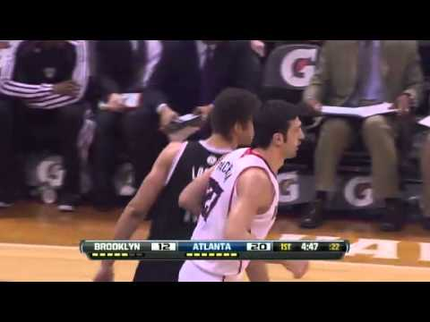 Nets vs. Hawks: First half  | Jan 16th, 2013