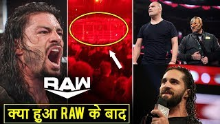 Roman INJURED, Big STEEL CAGE Match After Raw, Cain & Mysterio Opponents, Seth On AEW Raw Highlights