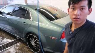 Đi rửa xe ở Mỹ ( car wash)