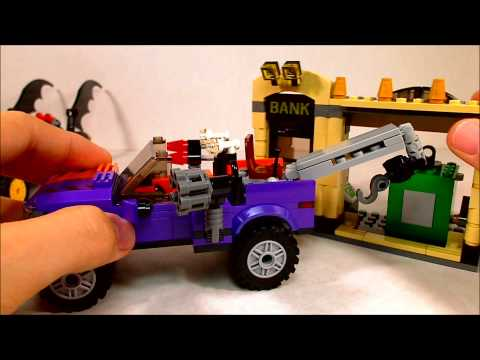 Lego 2012 Superheroes Batmobile and the Two-Face Chase Review