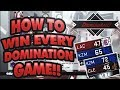 HOW TO WIN EVERY DOMINATION GAME - NBA 2K18 MYTEAM!!
