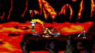 Donkey Kong Country 2 (SNES) Boss Battles