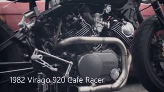 Xe PKL Yamaha Virago 920 độ cafe racer cực phong cách