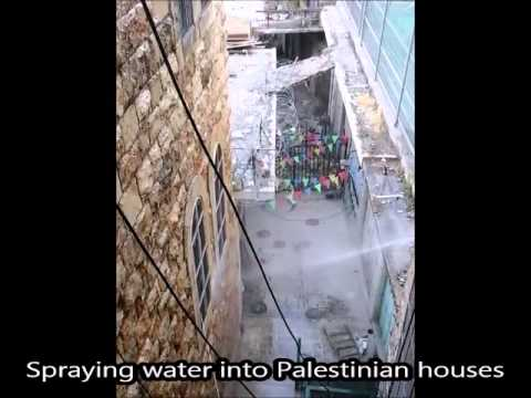 Settlers attack Palestinian home and market in Hebron