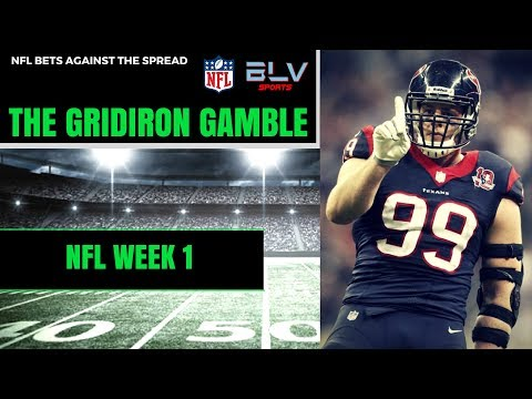 NFL Picks Against The Spread Week 1 | The Gridiron Gamble NFL Betting Show