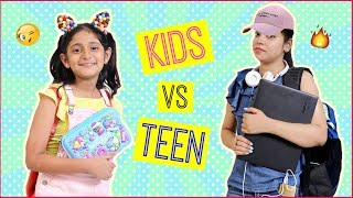 Kids vs Teenagers ... | #Roleplay #MoralValues #Fun #Sketch #Anaysa #MyMissAnand