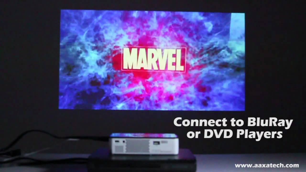 Aaxa Technologies Introduces The P300 Pico Projector Youtube