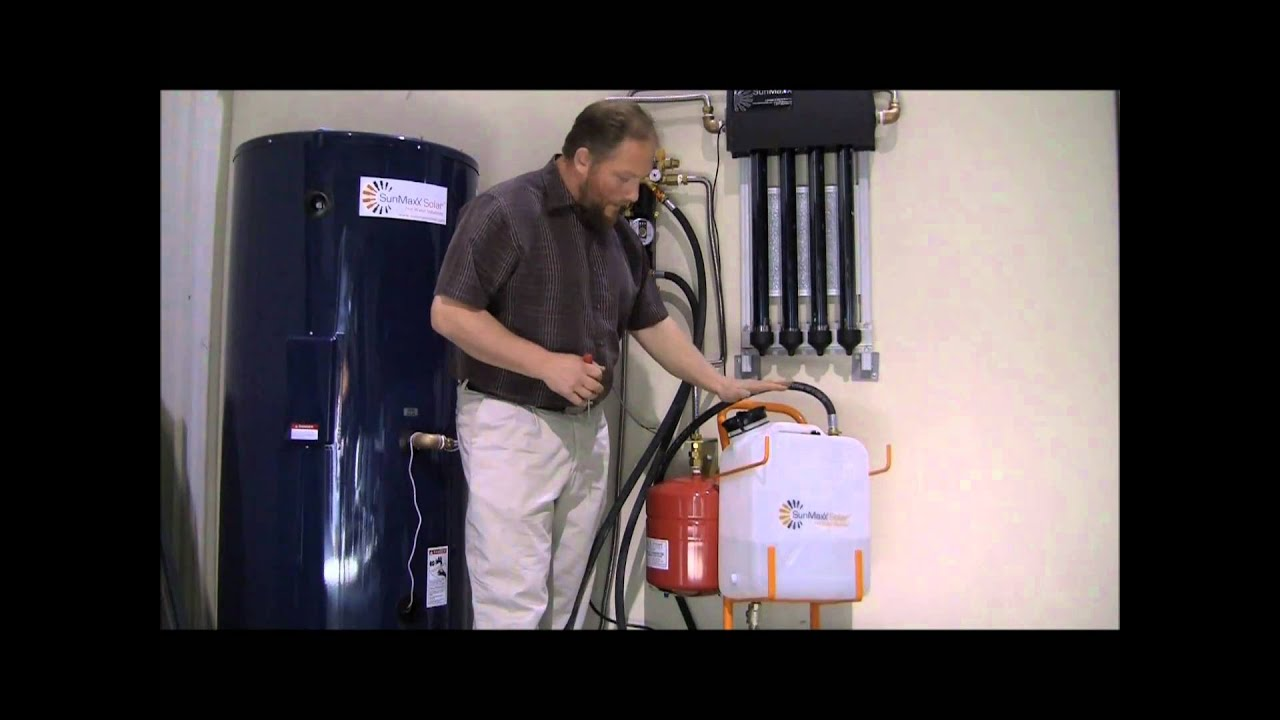 Sunmaxx Solar Demonstration Of Charging A System Using A
