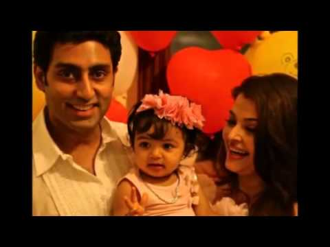 Aishwarya Rai Baby Birthday Party Photos video