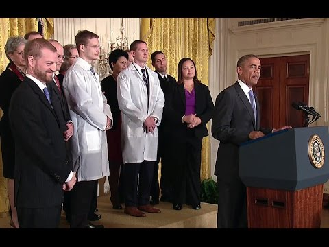 President Obama Delivers Remarks on American Health Care Workers' Fight Against Ebola