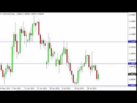 EUR/USD Technical Analysis for August 6 2015 by FXEmpire.com