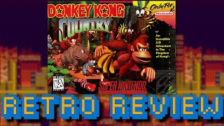 Donkey Kong Country (SNES) RETRO REVIEW - Keegs