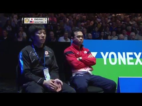 Yonex All England Open 2016 | Badminton SF M2-MD | Endo/Hay Vs Goh/Tan