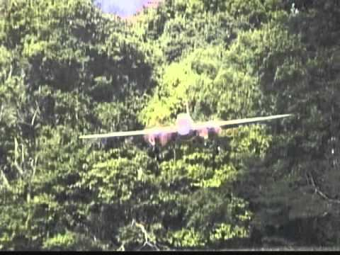de Havilland Mosquito RC Model Slow Motion