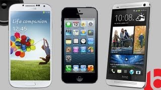 HTC One vs. Galaxy S4 vs. iPhone 5 Speaker Test & Comparison