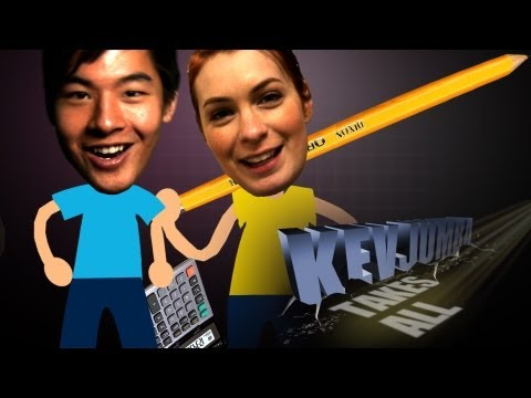 KevJumba Takes the SAT w/ Felicia Day