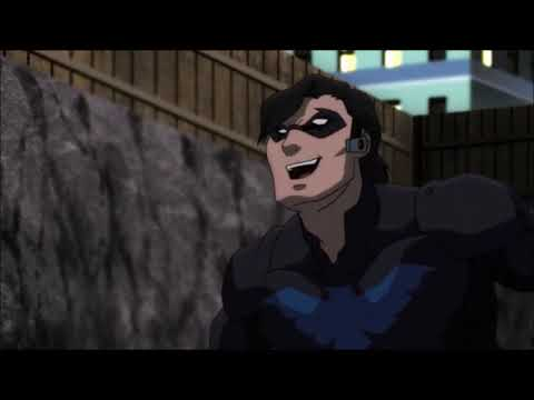 DCAMU's Nightwing - Fight Moves Compilation