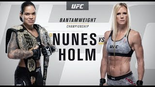 UFC 239: Amanda Nunes vs. Holly Holm Recap