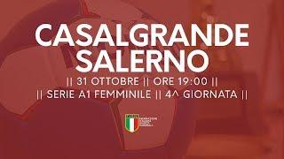 Serie A1F [4^]: Casalgrande - Salerno 24-35