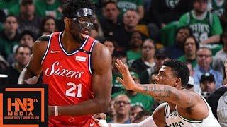 Philadelphia Sixers vs Boston Celtics Full Game Highlights / Game 1 / 2018 NBA Playoffs