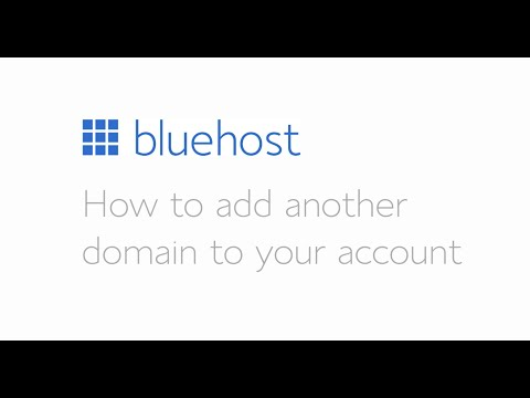 How to add a domain to your account.