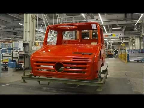 Mercedes-Benz Special Trucks UNIMOG Plant in Woerth