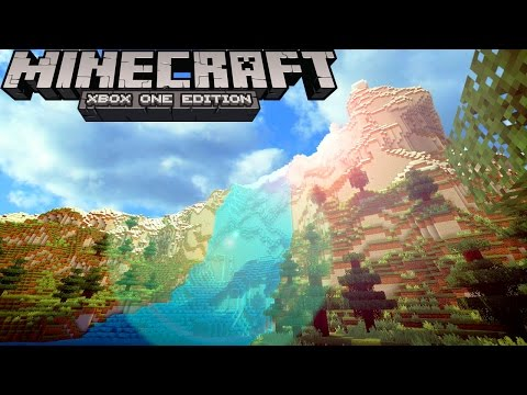 Minecraft Best Seeds! Crazy Unreal Terrain Seed - Minecraft Xbox Seeds Gameplay (Minecraft Xbox)