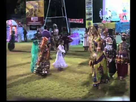 Navratri 2013 Live Garba - Kalol - Day 3 - Rita Dave Musical Group video