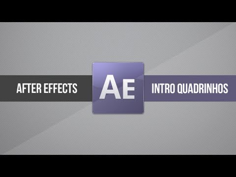 Tutorial After Effects: Intro/Vinheta estilo QUADRINHOS