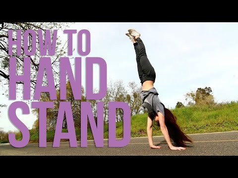 How to Handstand | Gymnastics Basics | Monica Miyagi(Miyagi Gymnastics