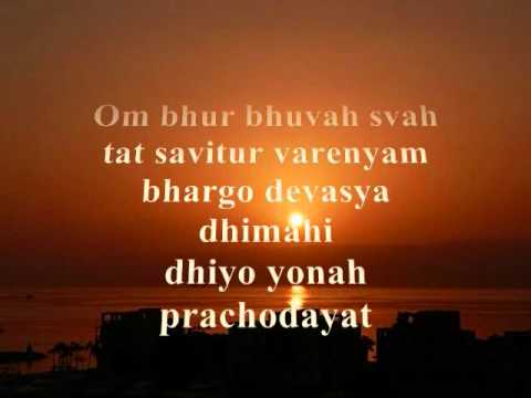 Gayathri Mantra-Chanting & Lyrics.wmv