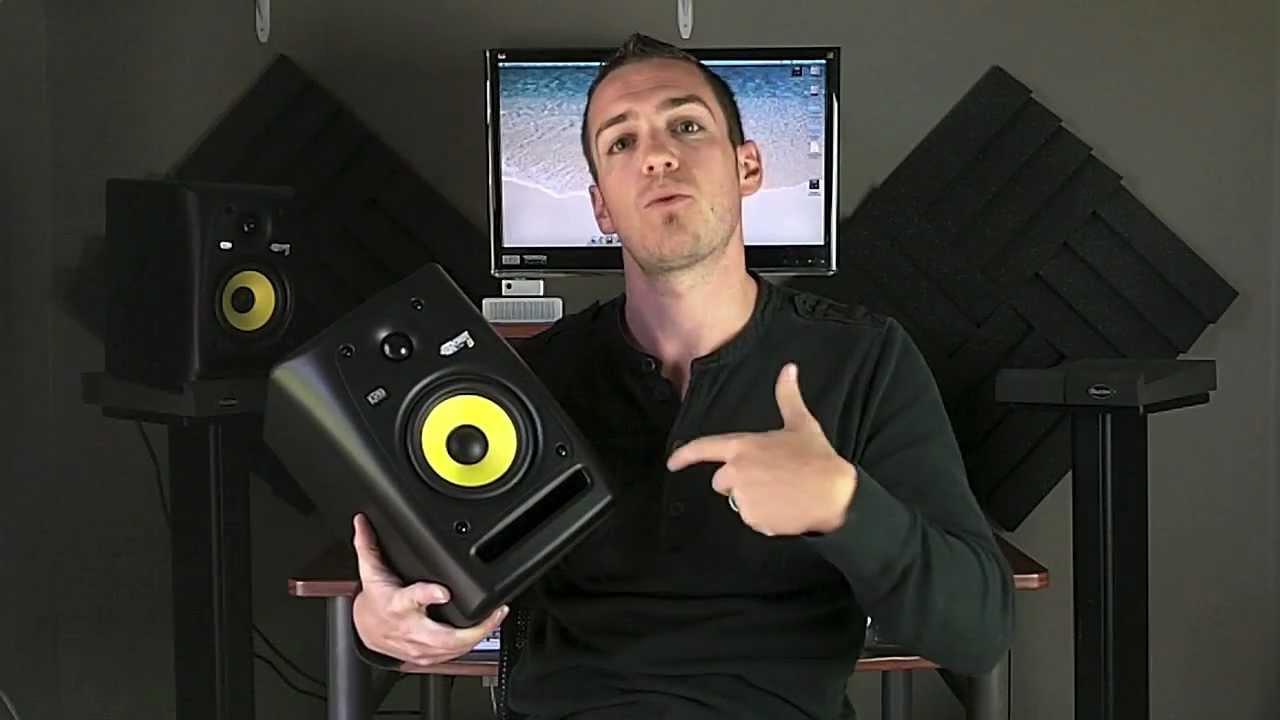 Krk Rokit 5 Studio Monitors Review