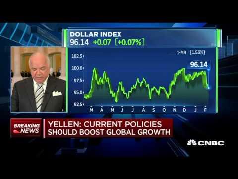 Monetary Policy Not On Preset Course - Janet Yellen - 10 Feb 16  | Gazunda