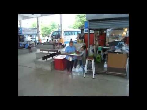 Ekamai bus station Bangkok