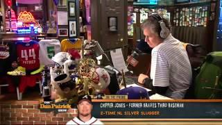Chipper Jones on The Dan Patrick Show 3/14/13
