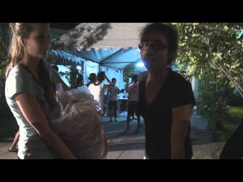 Vlog on floods in Bangkok, Oct.11, 2011