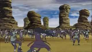 Uchiha madara vs The Allied Shinobi Forces - ( Indestructible ) Hero's come back ( MVC )