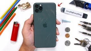 iPhone 11 Pro Max Durability Test - Back Glass Scratches?