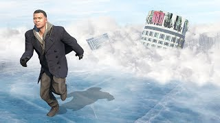GTA 5 - HUGE Avalanche  Ice Age! Extreme Weather