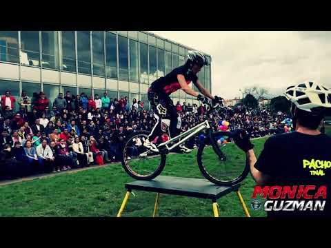 Evento Espectaculo y Show Extremo BMX - Trial - Pacho Villegas y Monica Guzman