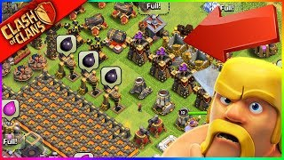 Would You Attack? ▶️ Clash of Clans ◀️ BEST. DEFENSE. EVER.