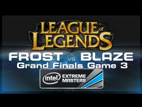 CJ Entus Frost vs CJ Entus Blaze Game 3 (LoL Grand Finals) - IEM World Championship 2013