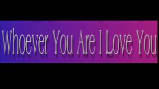 Watch Burt Bacharach Whoever You Are I Love You video