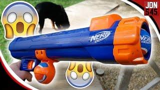 Nerf Dog Blaster ( Cannon ) AMAZING