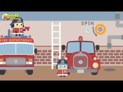 Машинки  Пожарная машина мультик Мультики про машинки для детей Смотреть машинки