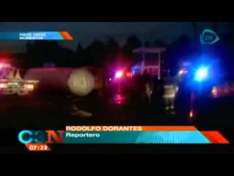 IMPRESIONANTE!!! Se registra accidente en caseta de Chalco