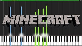Sweden - Minecraft [Piano Tutorial] (Synthesia) // Torby Brand