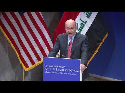 President Barham Salih of Iraq