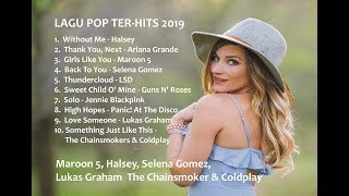 Lagu Barat Pop Ter Hits 2019 + Lirik | Paling Enak Didengar ketika Kerja & Santai